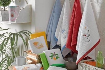 Кухонные комплекты полотенец