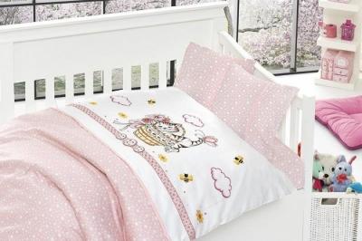 Детское постельное белье  Bambu Bebek Kitty Pembe