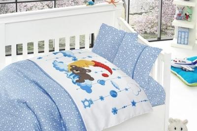 Детское постельное белье  Bambu Bebek Sleeper Mavi