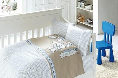 Детское постельное белье  Bambu Bebek Baby Mavi