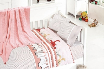 Детское постельное белье  Bambu Bebek Ginny Pudra