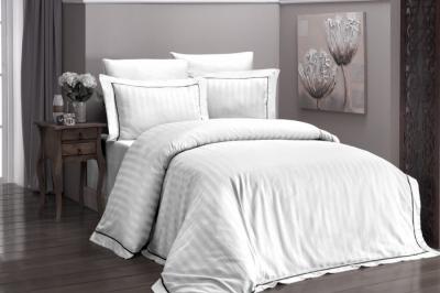 Евро комплект постельного белья Satin Deluxe   Beyaz  (DLX-21)