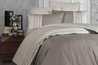 Евро комплект постельного белья Satin Deluxe   Vizon (DLX-36)