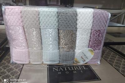 Набор махровых полотенец Cestepe  Lux VIP Coton( 6 шт)129