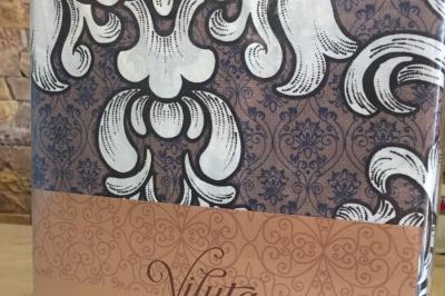 Простынь на резинке ранфорс  Viluta