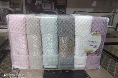 Набор махровых полотенец Cestepe  Lux VIP Coton( 6 шт)139